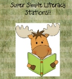 Simple Literacy Stations
