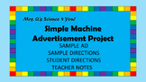 Simple Machine Ad Project