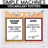 Simple Machines Anchor Chart Posters Classroom Decor