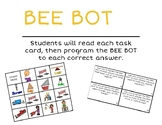 Simple Machine BEE BOT, Unplugged Activity, and Vocabulary Posters