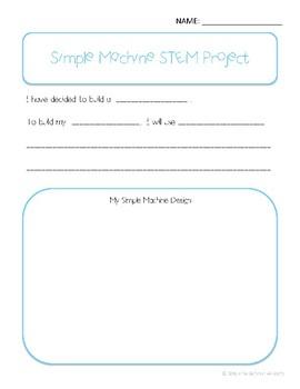 Simple Machine Building STEM Project