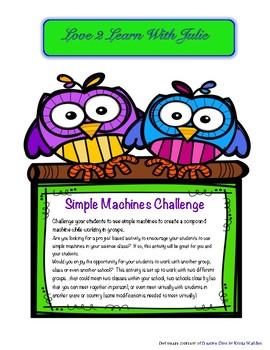 Simple Machine / Compound Machine Group Challenge