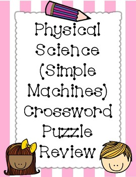 Simple Machine Crossword Puzzle Review