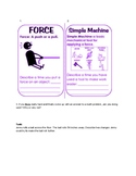 Simple Machine & Force DQ and Task