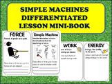 Simple Machine Mini Book definitions, visualizations, revi