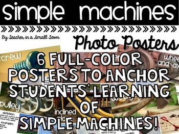 Simple Machine Photo Posters