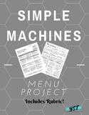 Simple Machine Project Menu