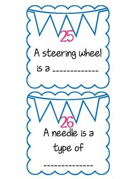 Simple Machine Task Card FREEBIE!