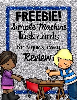 Simple Machine Task Card FREEBIE!