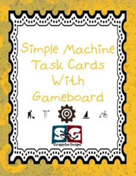 Simple Machine Physical Science Task Cards