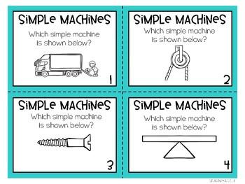 Simple Machine Task Cards
