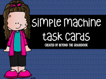 Simple Machine Task Cards