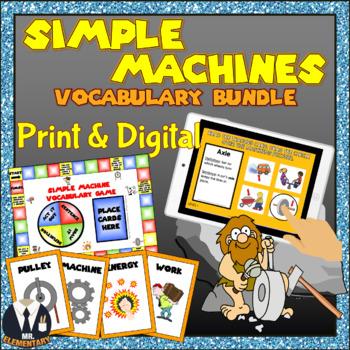 Simple Machines Vocabulary Bundle