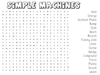 Simple Machine Word Search