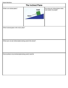 Simple Machine Workbook