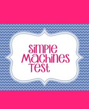 Simple Machines Test