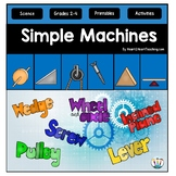 Simple Machines: A Non-Fiction Resource w/ Flip Book & Case File on Archimedes