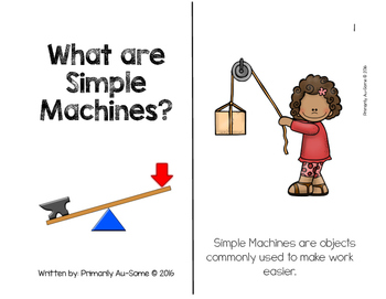 Simple Machines (An Extended Standards Unit)