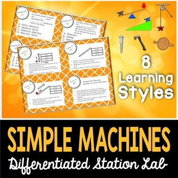 Simple Machines Student-Led Station Lab