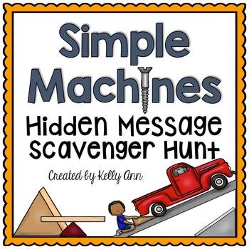 Simple Machines Activity - Scavenger Hunt