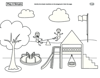 simple machine coloring pages - photo#4