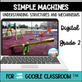 Simple Machines 2nd Grade Science for use with Google Clas