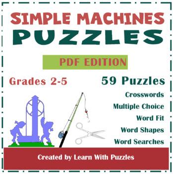 Simple Machines - 35 Unique Simple Machines Puzzles