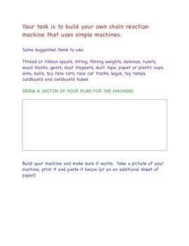Simple Machines Activity
