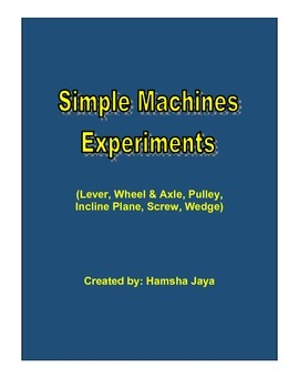 Simple Machines Activity Centers