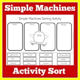 Simple Machines Worksheet Activity