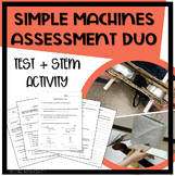 Simple Machines Assessment Duo - Design Challenge (STEM /