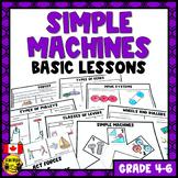 Simple Machines Basic Concepts Mini-Unit