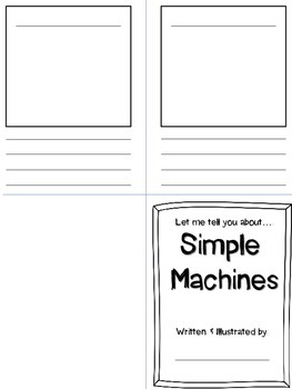 Simple Machines Book-- FREEBIE