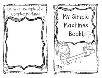 Simple Machines Booklet!