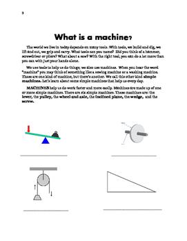 Simple Machines Booklet