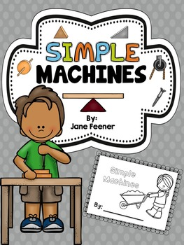 Simple Machines Booklet and Note taker
