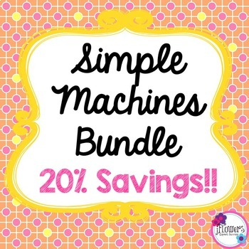 Simple Machines Bundle! 20% Savings!!!