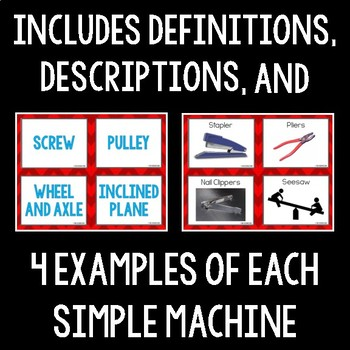 Simple Machines Card Sort