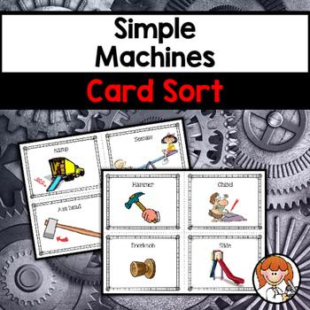 Simple Machines Card Sort