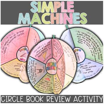 Simple Machines Circle Book Craftivity