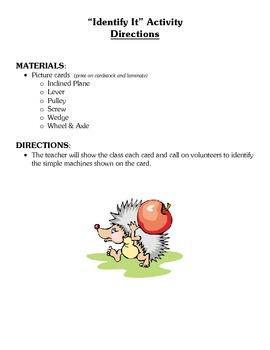 Simple Machines Class Activities (SEVEN) - Science