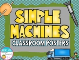Simple Machines Classroom Posters