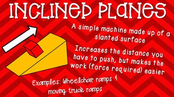Simple Machines Classroom Posters, Bulletin Board, or Teaching Slides