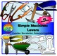 Simple Machines Clipart- Levers, Wedges, Wheel & Axle, Inclined Planes, Pulley