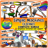Simple Machines Clipart- Levers, Wedges, Wheel & Axle, Inc