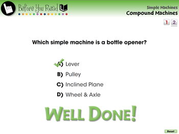 Simple Machines: Compound Machines - PC Gr. 5-8