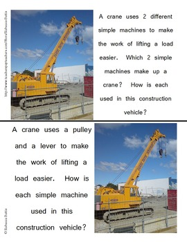 Simple Machines : Investigations, Task Cards, and Assessments