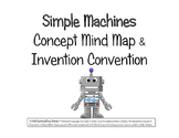 Simple Machines Concept Map & Invention Convention~ 5th-8th grades & Homeschool