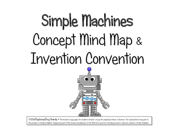 Simple Machines Concept Map & Invention Convention~ 5th-8t
