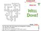 Simple Machines: Crossword - NOTEBOOK Gr. 5-8
